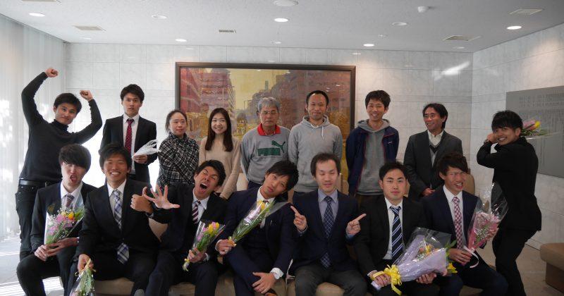 2017年3月22日卒業式と追いコン